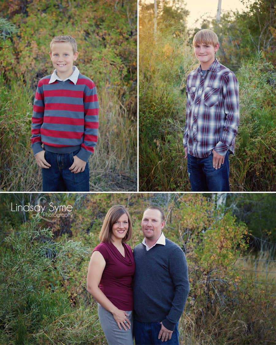 Elko Fall Family Portraits