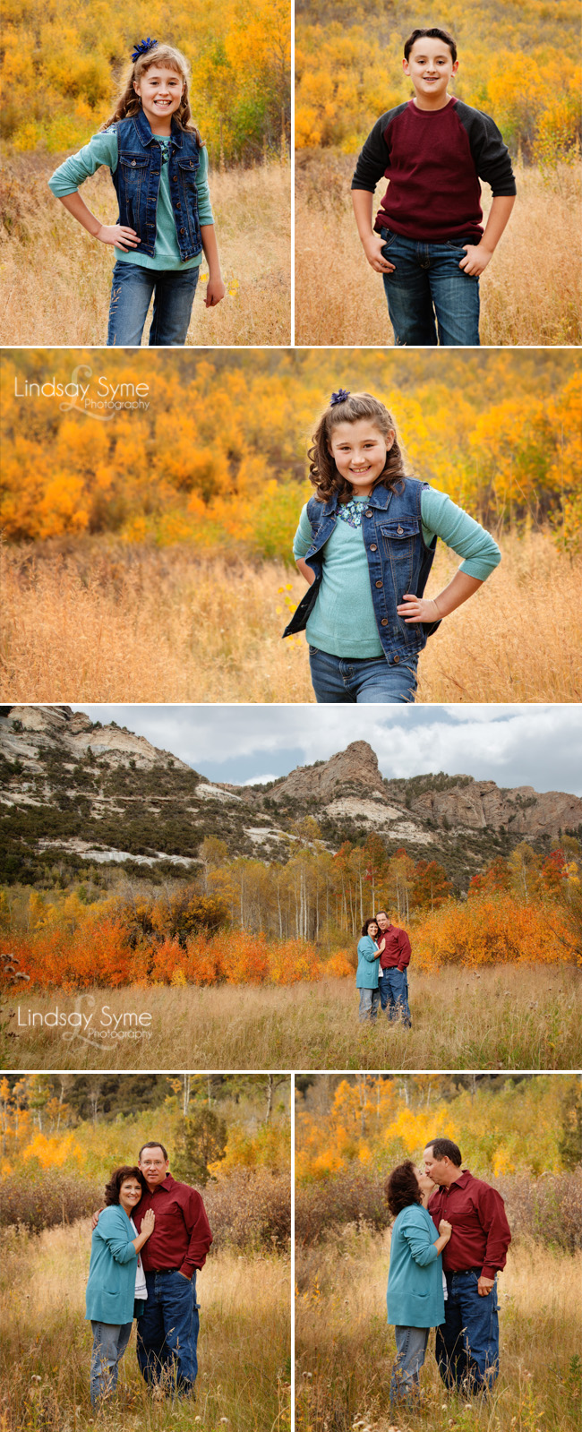 Fall Family Photos in Northeast Nevada