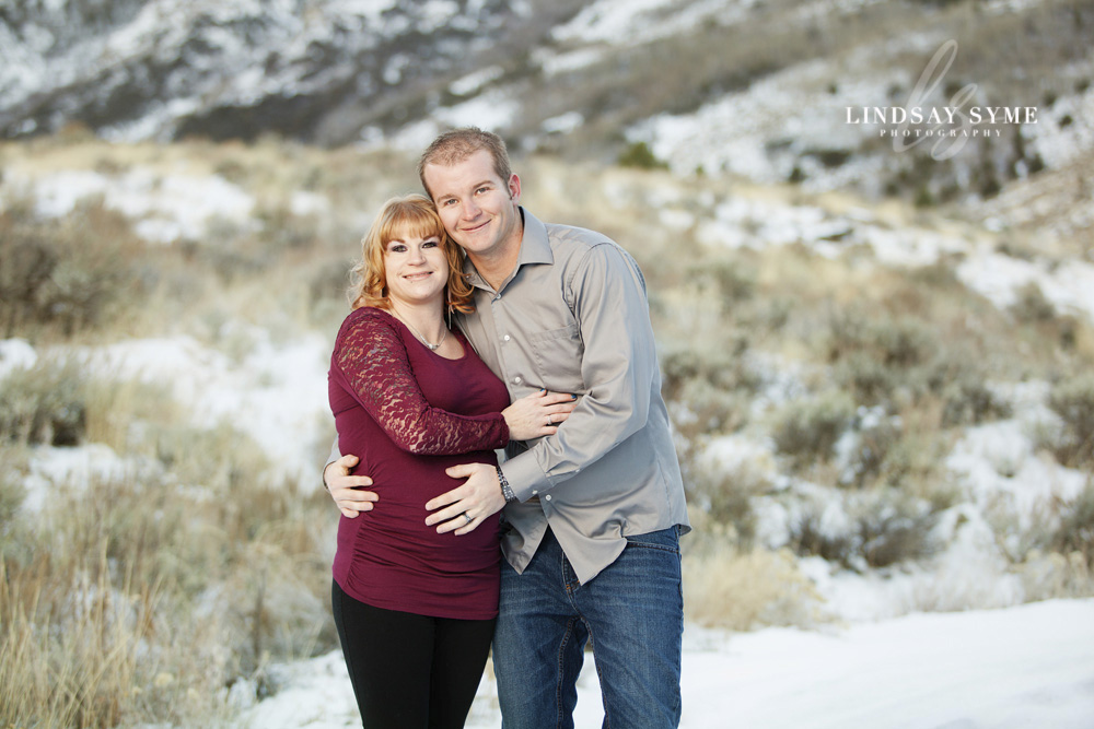 Elko Maternity Session - Jen and Nic