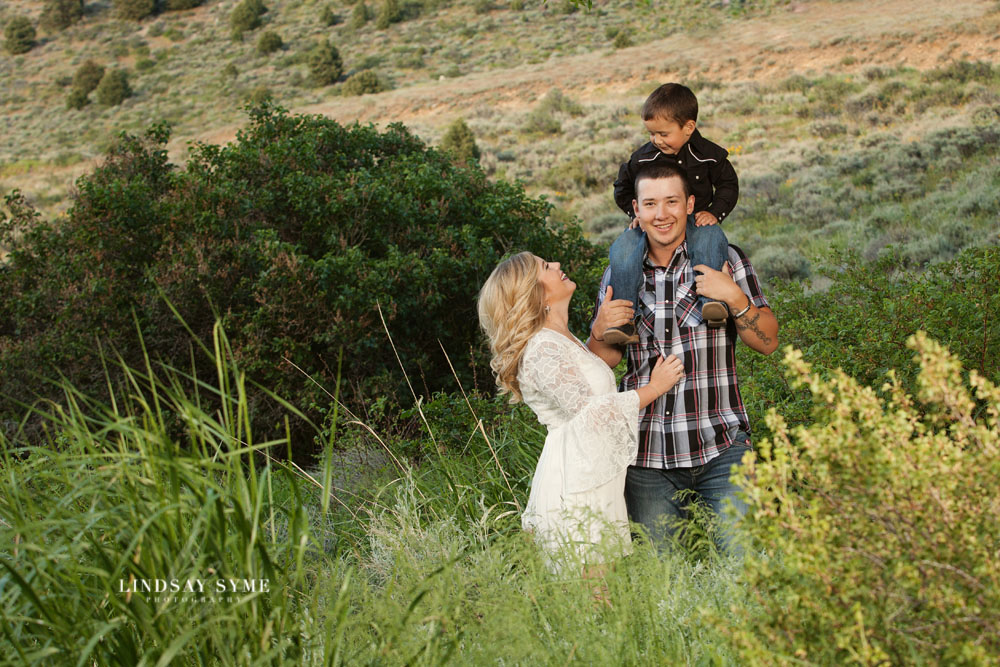 Family Engagement Session with Elko, NV Photographer