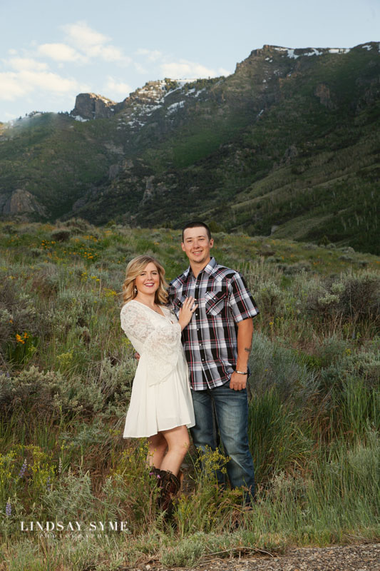 Elko Engagement Session with Lindsay Syme Photography