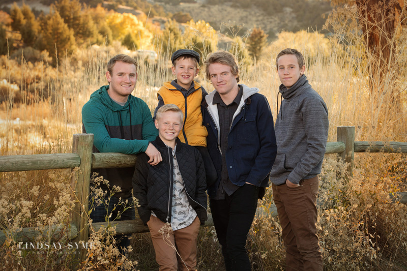 New Chapter, New Beginning - Walthers Family portraits before their son heads to the Philippines for a  church mission - Brothers