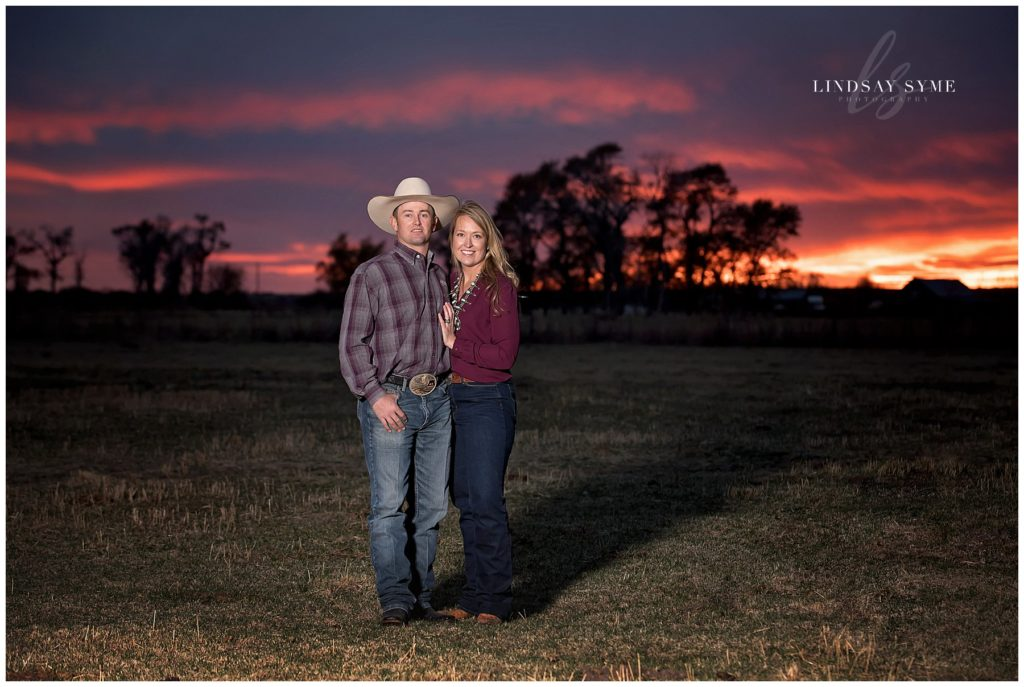Sunset Ranch Portrait Session by Lindsay Syme Photography