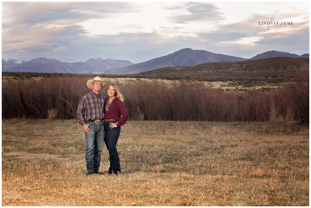 Nevada Ranch Family Portraits Created by Lindsay Syme Photography